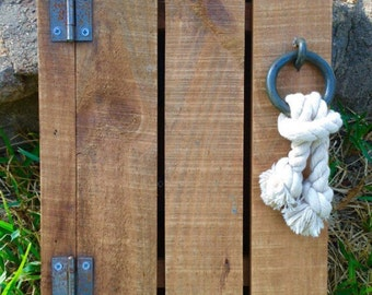 Wooden Key Rack/Rustic Key Holder/Wooden Fence Key Storage