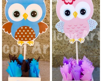 Owl Baby Shower Decorations | Etsy