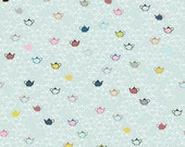 Five O'Clock Tea by Stof Fabrics of Denmark - Tea Pots - Cotton Woven Fabric