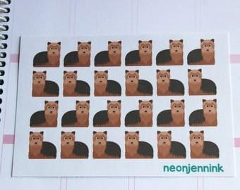 Standard Yorkie Stickers