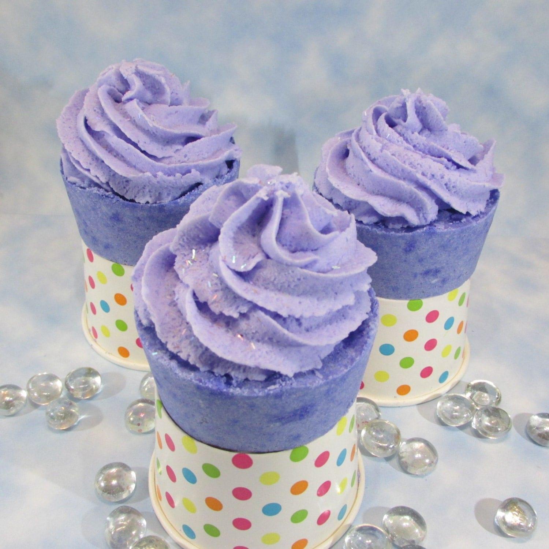 Bubble Bath Bomb Cupcakes Teen Birthday Party Favors Bridal