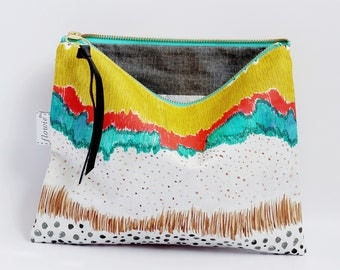 Large zipper pouch, Amelia