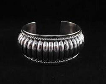 Sterling silver bracelet navajo