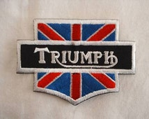 Classic Motorcycles Triumph BSA Buell Embroidered Patch (Single)