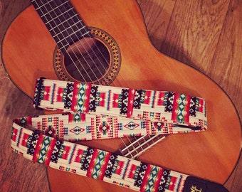 Tribal Guitar Strap (2)