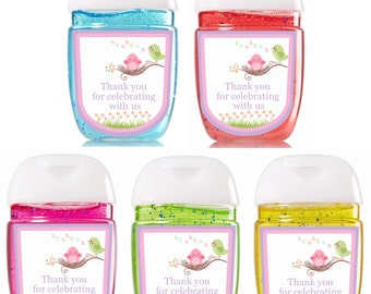 New Bath and Body Works Hand Sanitizer / Baby Shower Favors / Bath and Body Works Sanitizer / Sanitizer Labels / Tweet Baby / Shower Favors