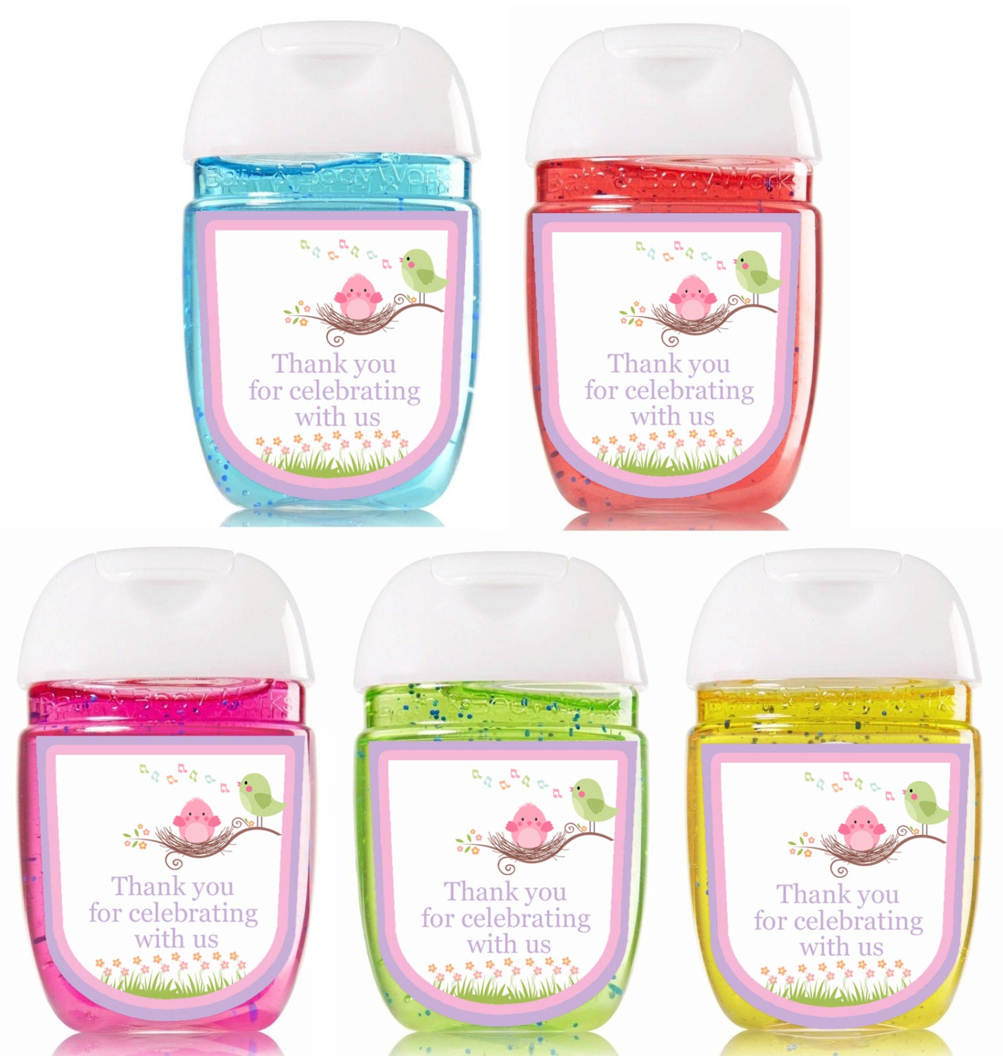 New Bath and Body Works Hand Sanitizer / Baby Shower Favors