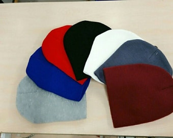 Solid colors beanie