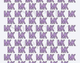 MK Pattern Cookie Stencil