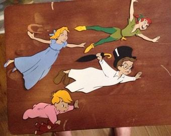 Set of 4 Peter Pan die cuts