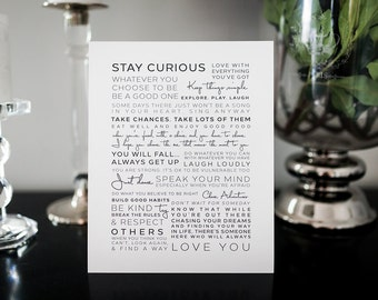 Wall Art | Gallery Wall | Manifesto | Life's Rules | Inspiration Print | Quotes |