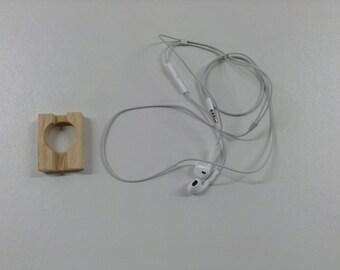 Headset earphones iPad Apple iPod iPhone cable storage reel