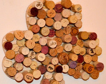 Corked Wooden Shamrock