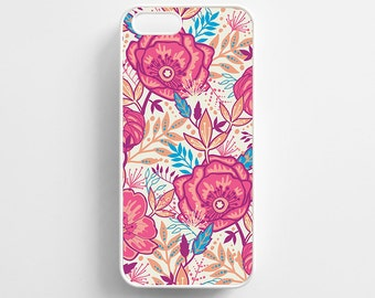 Floral Pattern Flowers iPhone 4/4s, iPhone 5/5s, iPhone 5c, iPhone 6, iPhone 6 Plus Case Cover 076