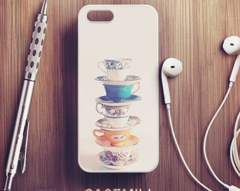 Stacked Teacup iPhone 6 Case iPhone 6s Case iPhone 6 Plus Case iPhone 6s Plus Case iPhone 5s Case iPhone 7 Case iPhone SE Case