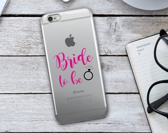 Bride to Be Cell Phone Case - Bride Cell Phone Case - IPhone Case - Cell Phone Case