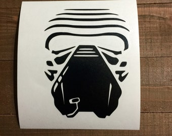 Star Wars The Force Awakens Kylo Ren Decal