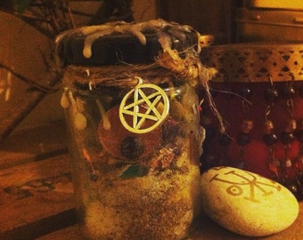 Psychic Awareness Witch Bottle, Battery, Wicca Spell, Pagan, Charm, Dream Vision