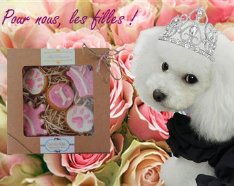 """Cabinet """"Princess"""" Biscuits for dogs BIO and gluten-free"""