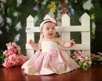 Mommy Miss Lily Dress Photo Prop Pink Spring
