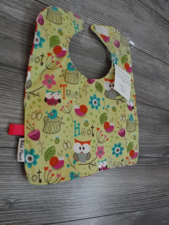 Waterproof bib small 0-6 month reversible