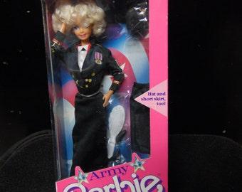 Mattel Army Barbie doll