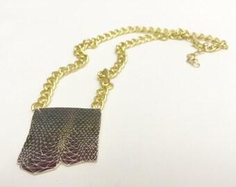 Color Study Necklace #3