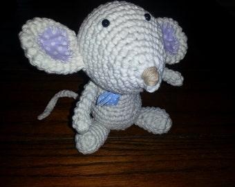 Silky Mouse Crochet Amigurumi