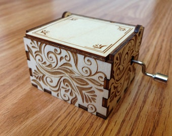 Music Box The Wedding March. Toy. Collectibles. Handmade. For young and old. Perfect gift.