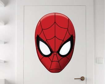 Spiderman wall decal high def photographs