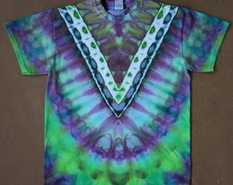 Tie Dye Shirt | Adult Medium Tie Dye, Unisex Tie Dye Shirt, Festival Shirt, Camping Shirt, Hippie Shirt, Boho Chic, Festival Wear, tiedye
