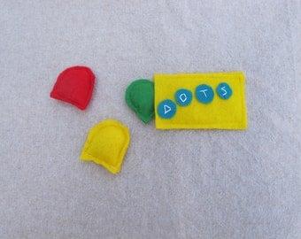 Dots Candy Catnip Cat toy set