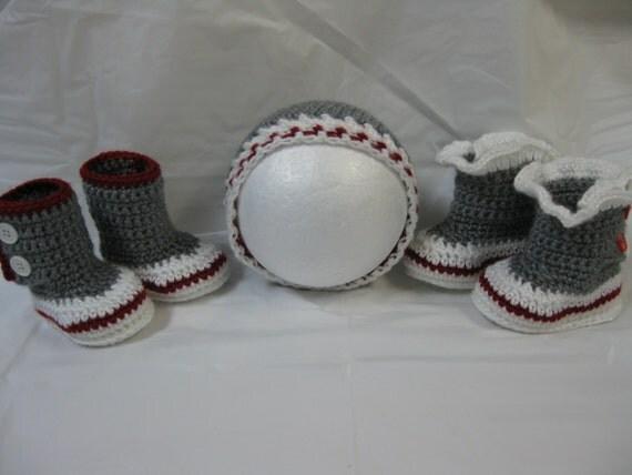 Patron Ensemble Tuque et pantoufle style bas de laine