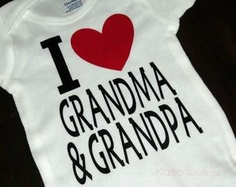 I Love Grandma & Grandpa