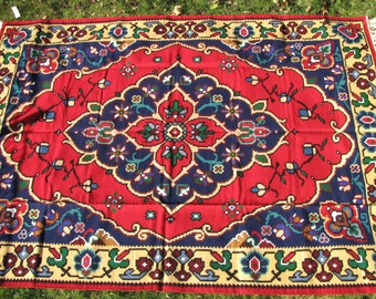 The Crown,Carpet,Rug,Vintage,Handmade,Chiprovci