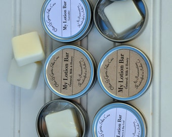 Solid Lotion bar with Tin