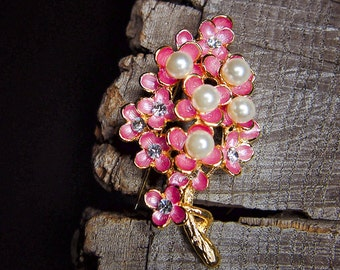 Cherry Branch Brooch #5446