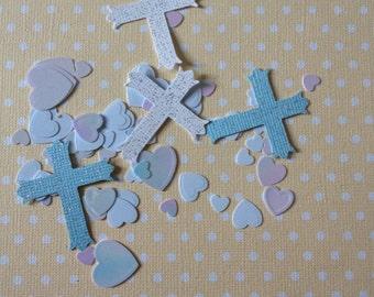 Baptism, Christening, First Communion, Confirmation Cross Confetti
