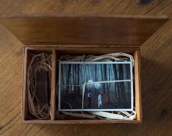 KOKKOLA, the wooden box - mahagony