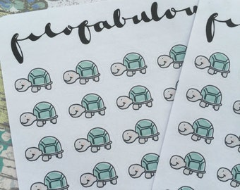 EmJoSa The Tortoise Planner Stickers