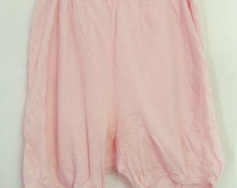 Woman's Vintage 40's era,Pretty Pink Cotton/Rayon BLOOMERS By Sears.M