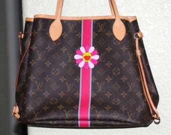 Custom hand painted purse...customer provided the purse...
