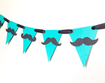 Mustache Birthday Banner - Mustache Bash - First Birthday