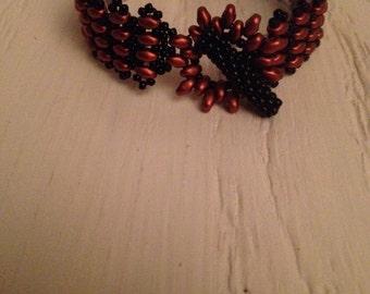 Copper & black band
