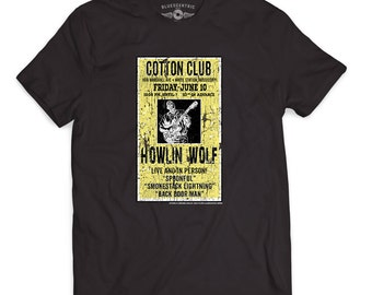 Howlin' Wolf Concert Poster T-Shirt - (Official) Classic Heavy Cotton
