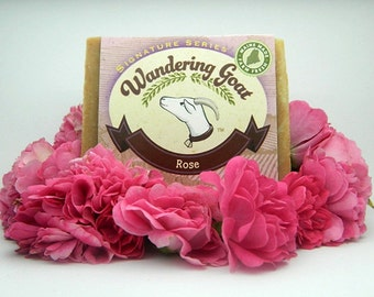 Rose Goats Milk Soap