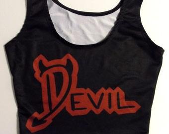 Devil Wings Crop Top