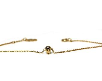 silver bracelet, skull charm bracelet, skull bracelet, skull jewelry,skull silver bracelet