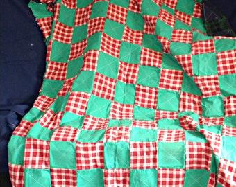 Flannel Rag Picnic Blanket