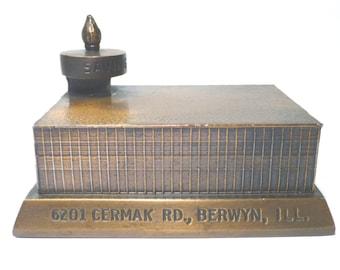 "Banthrico Bank ""OLYMPIC SAVINGS"" Berwyn, IL.  1954-1964"